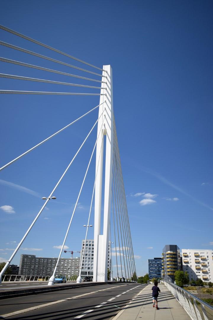 Pont Éric Tabarly, Nantes, July 2020