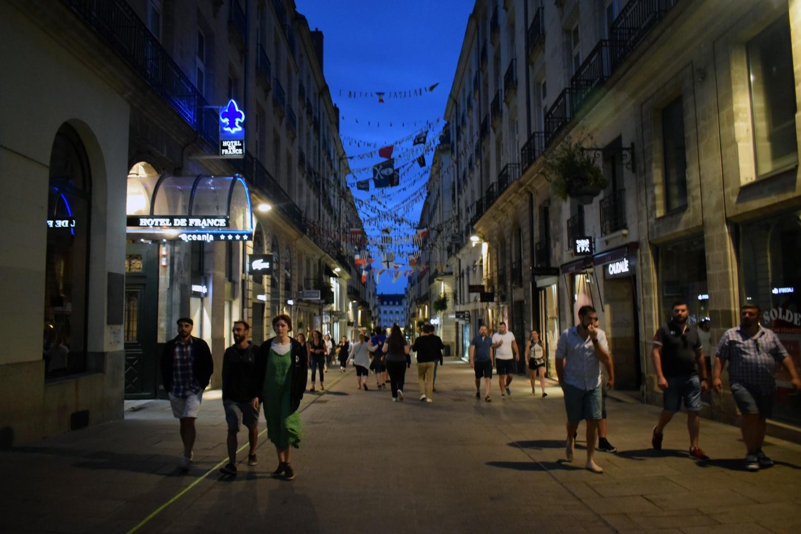 Rue Crébillon, Nantes, July 2020