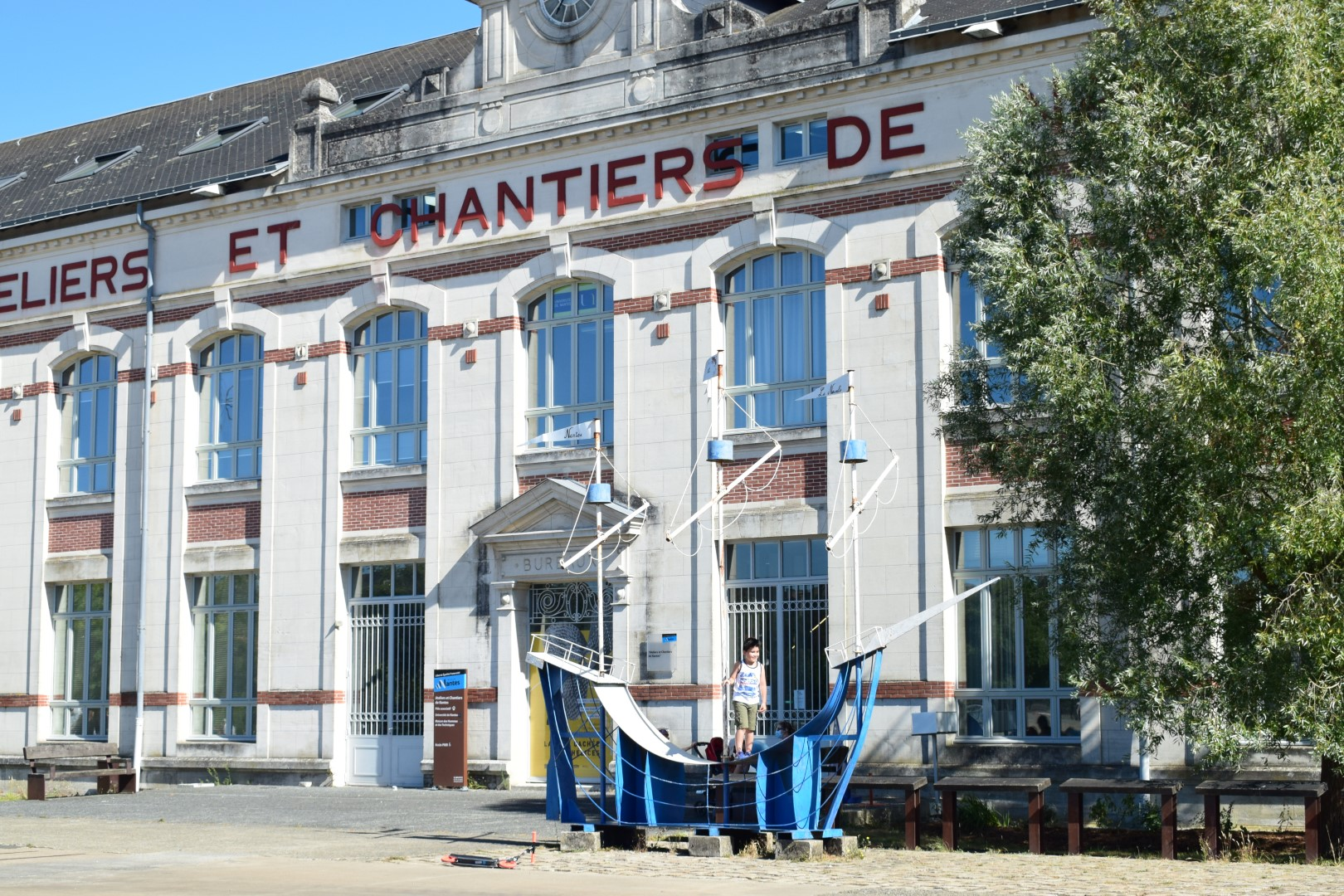 Maison des Hommes et des Techniques, Île de Nantes, July 2020