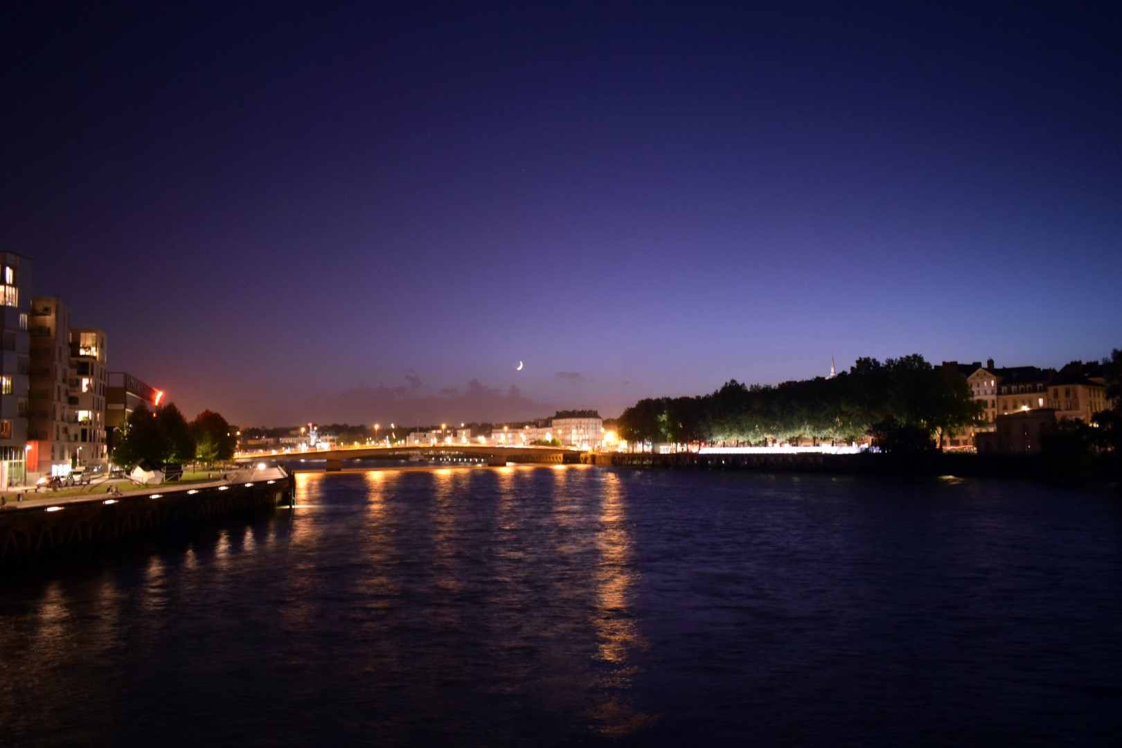 Passerelle Victor-Schoelcher, Loire River, Nantes