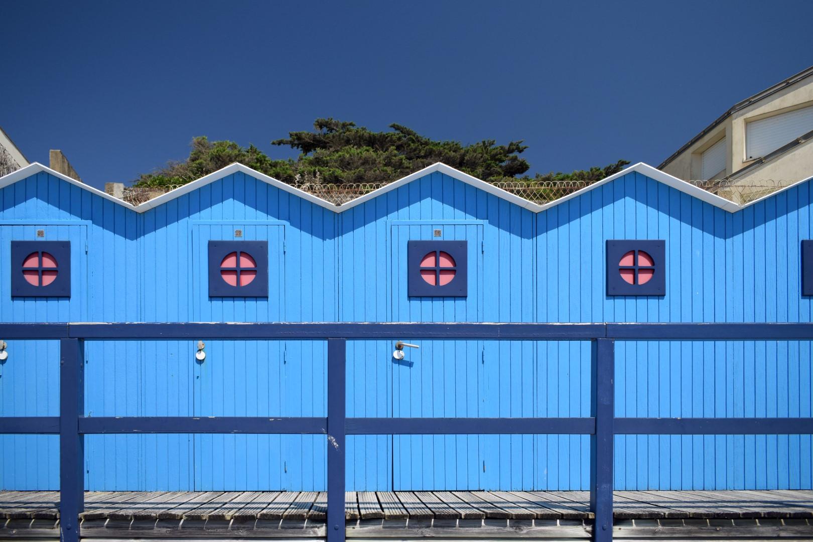 Le remblai, Grande plage, Saint-Gilles-Croix-de-Vie