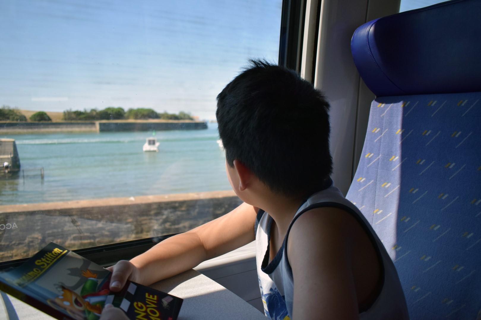 Arriving in Saint-Gilles-Croix-de-Vie