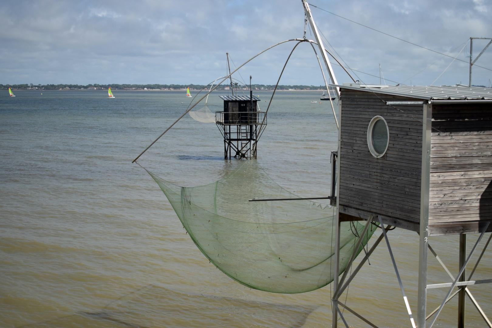 Les pêcheries, Saint-Nazaire, August 2020