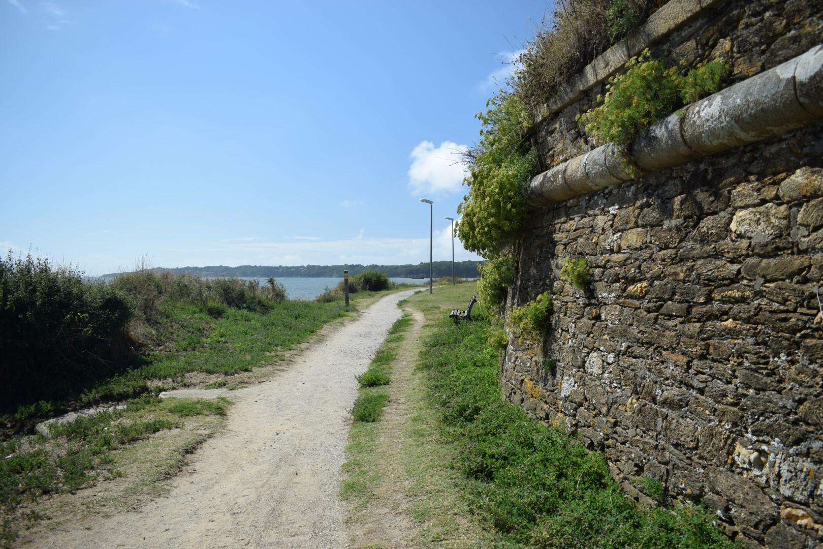 Chemin des douaniers, Saint-Nazaire, August 2020