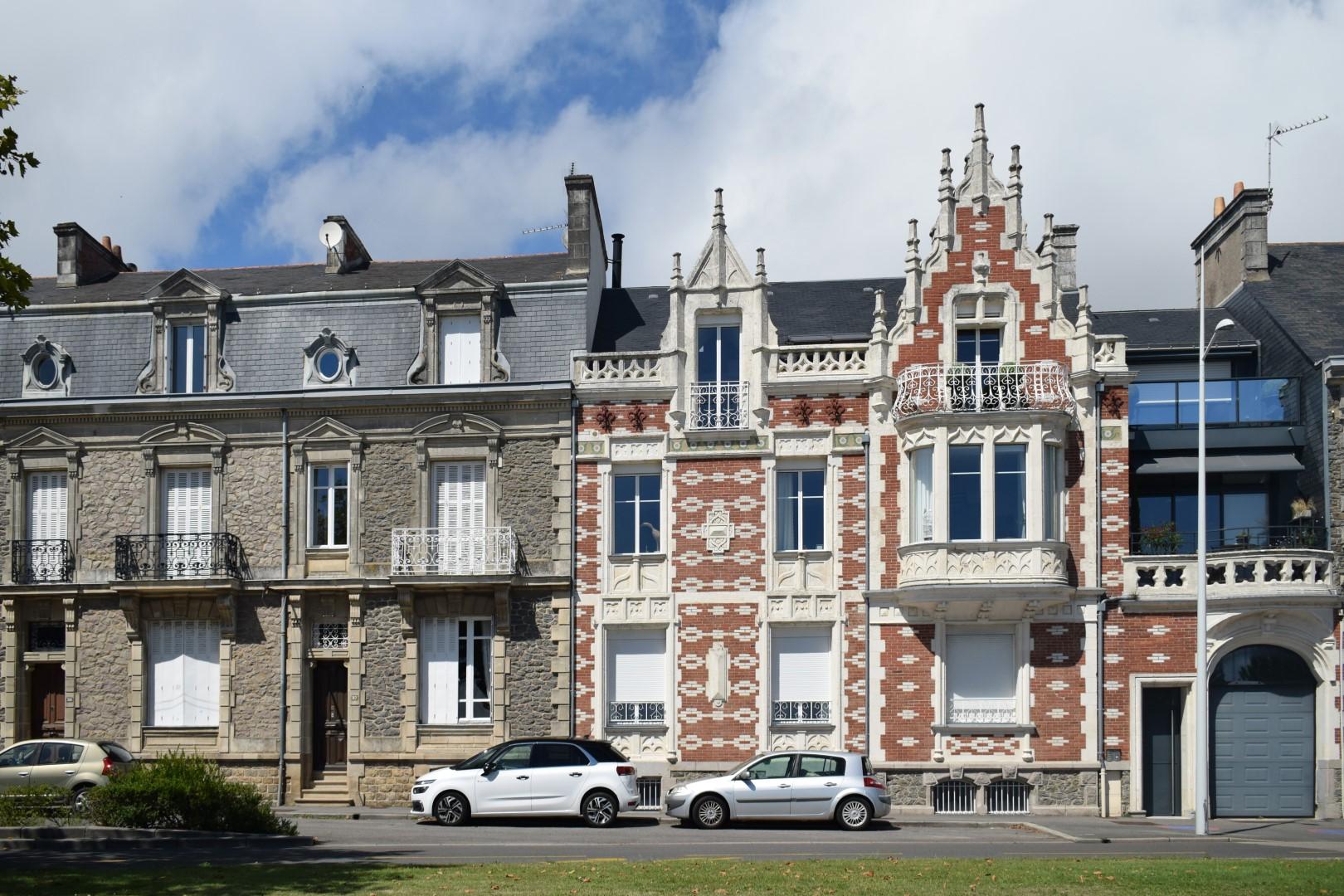 Boulevard du Président Wilson, Saint-Nazaire, August 2020