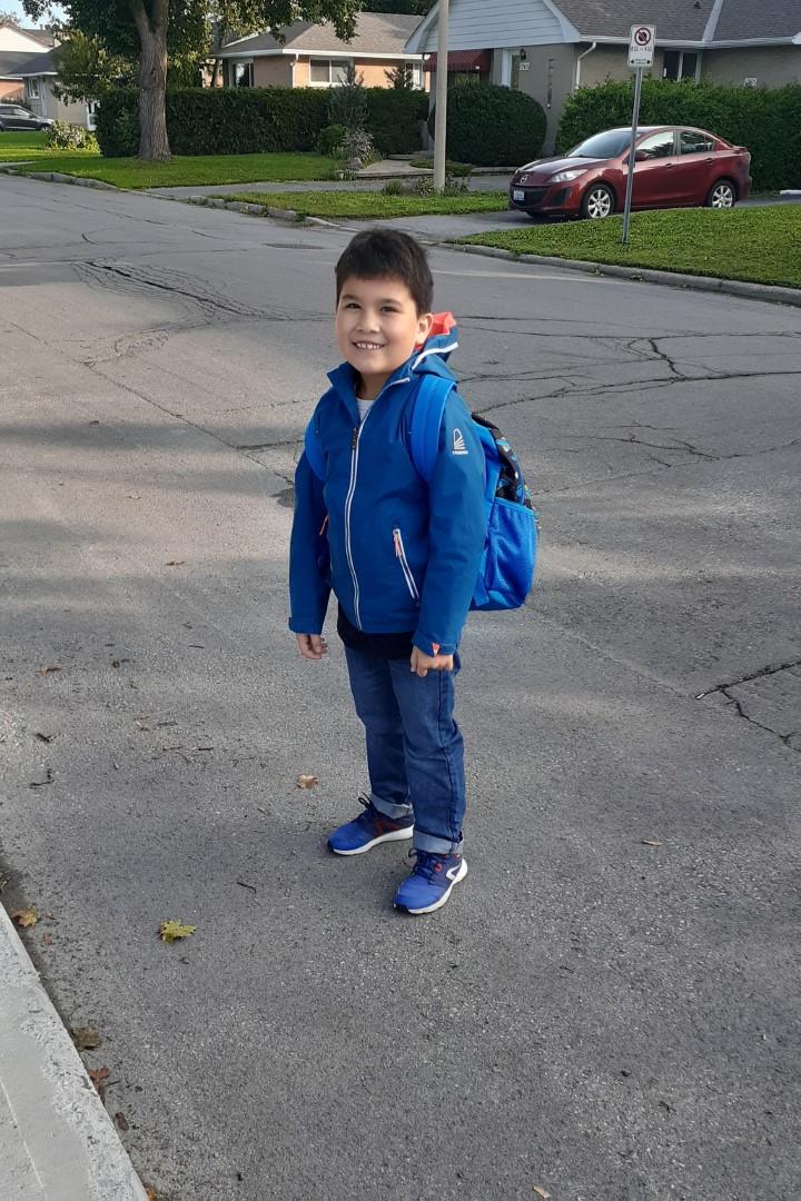 Back-to-school day, September 15 2020, Ottawa
