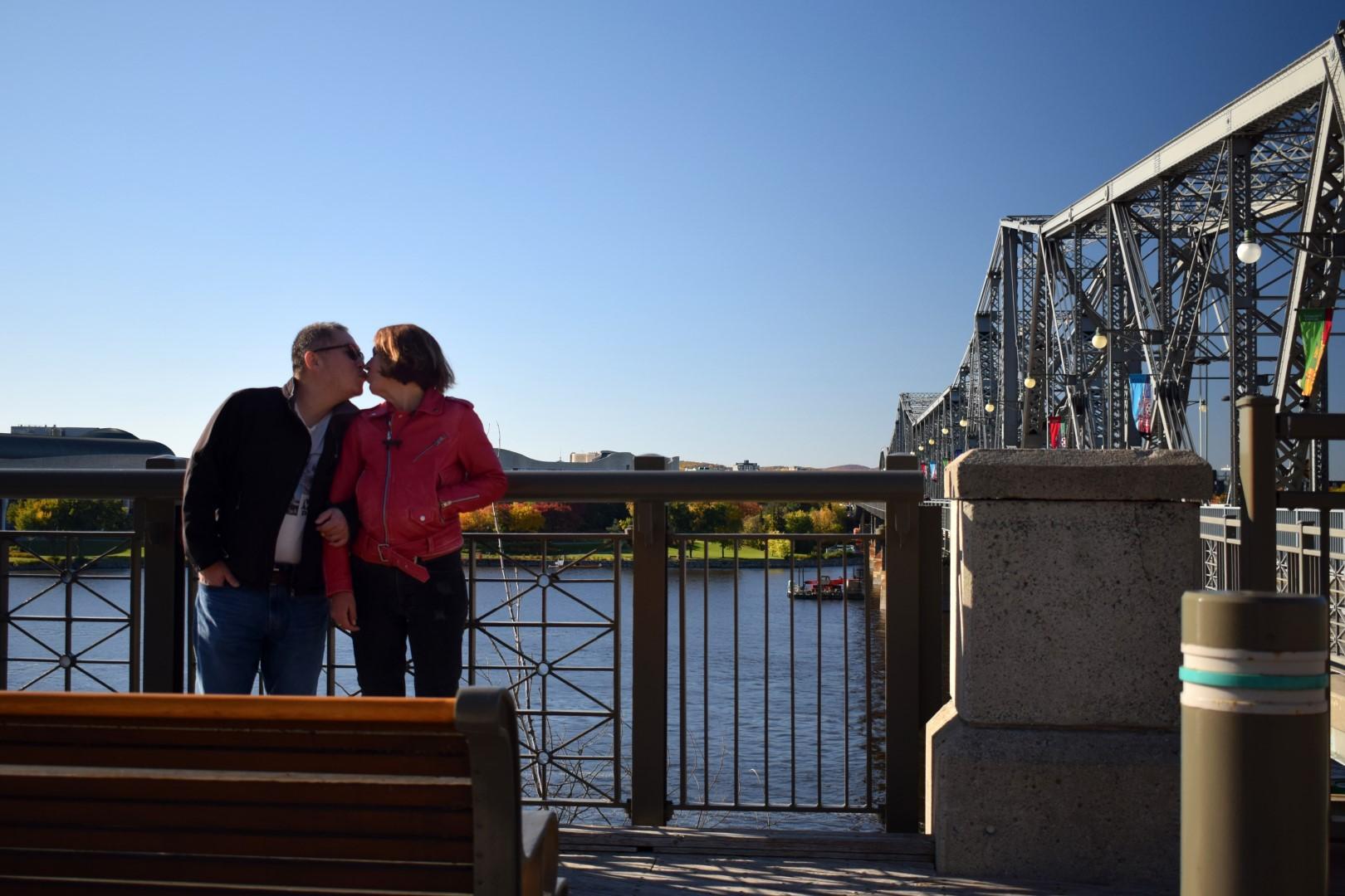 Alexandra Bridge lookout, Ottawa