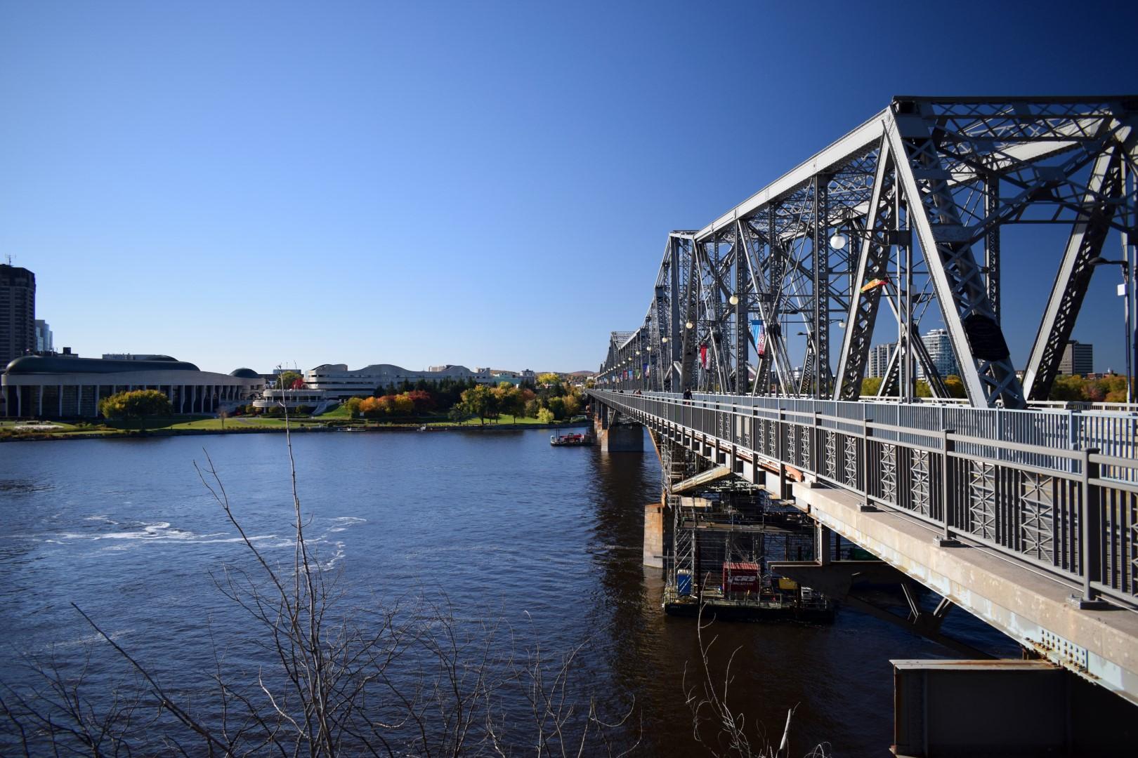 Alexandra Bridge and the Ottawa River