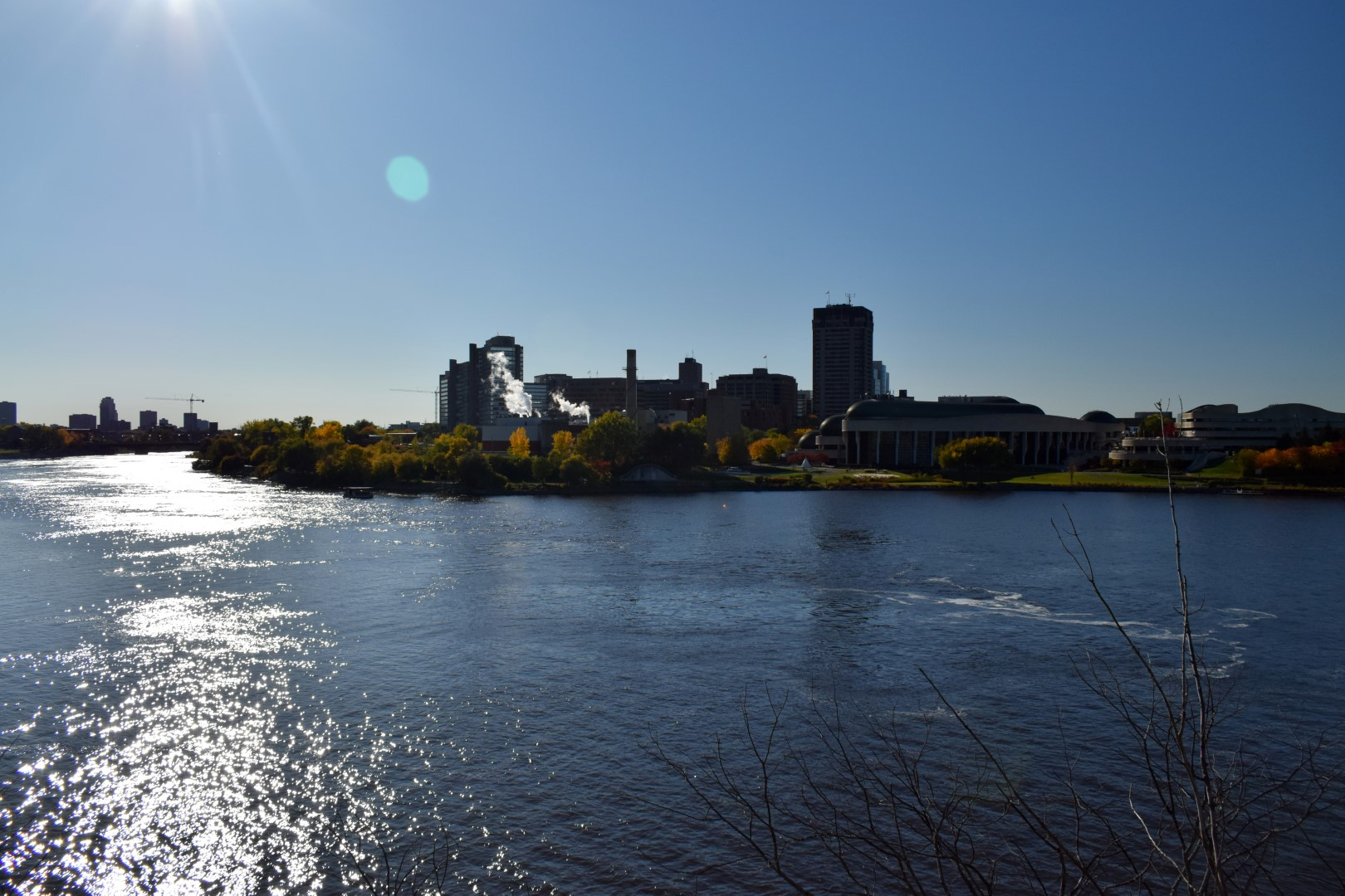 Gatienau, Quebec, across the Ottawa River