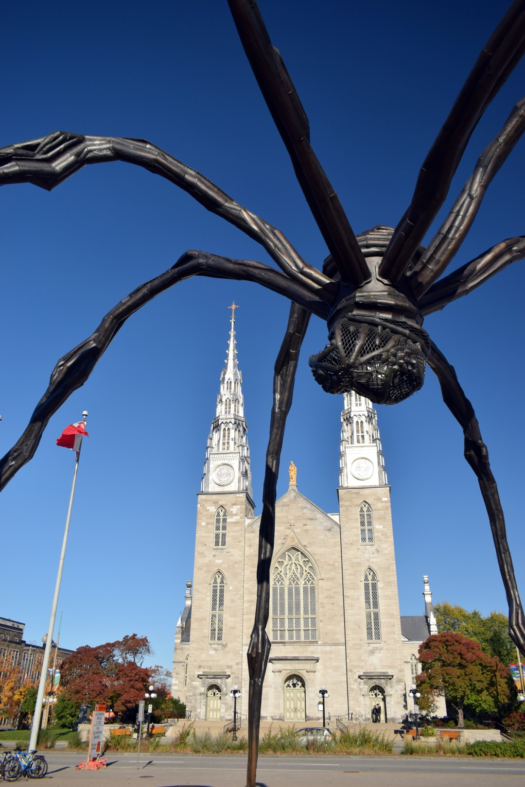 The Maman statue, National Gallery of Canada, Sussex Dr, Ottawa