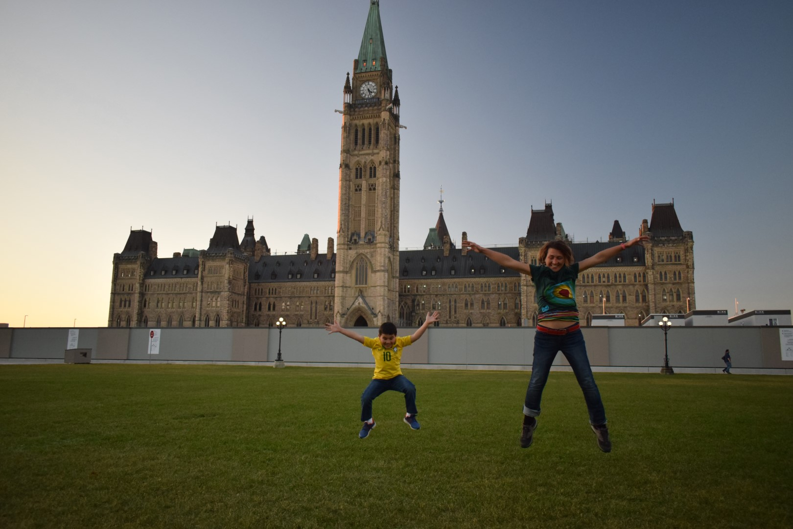 Parliament Hill, Ottawa, November 2020