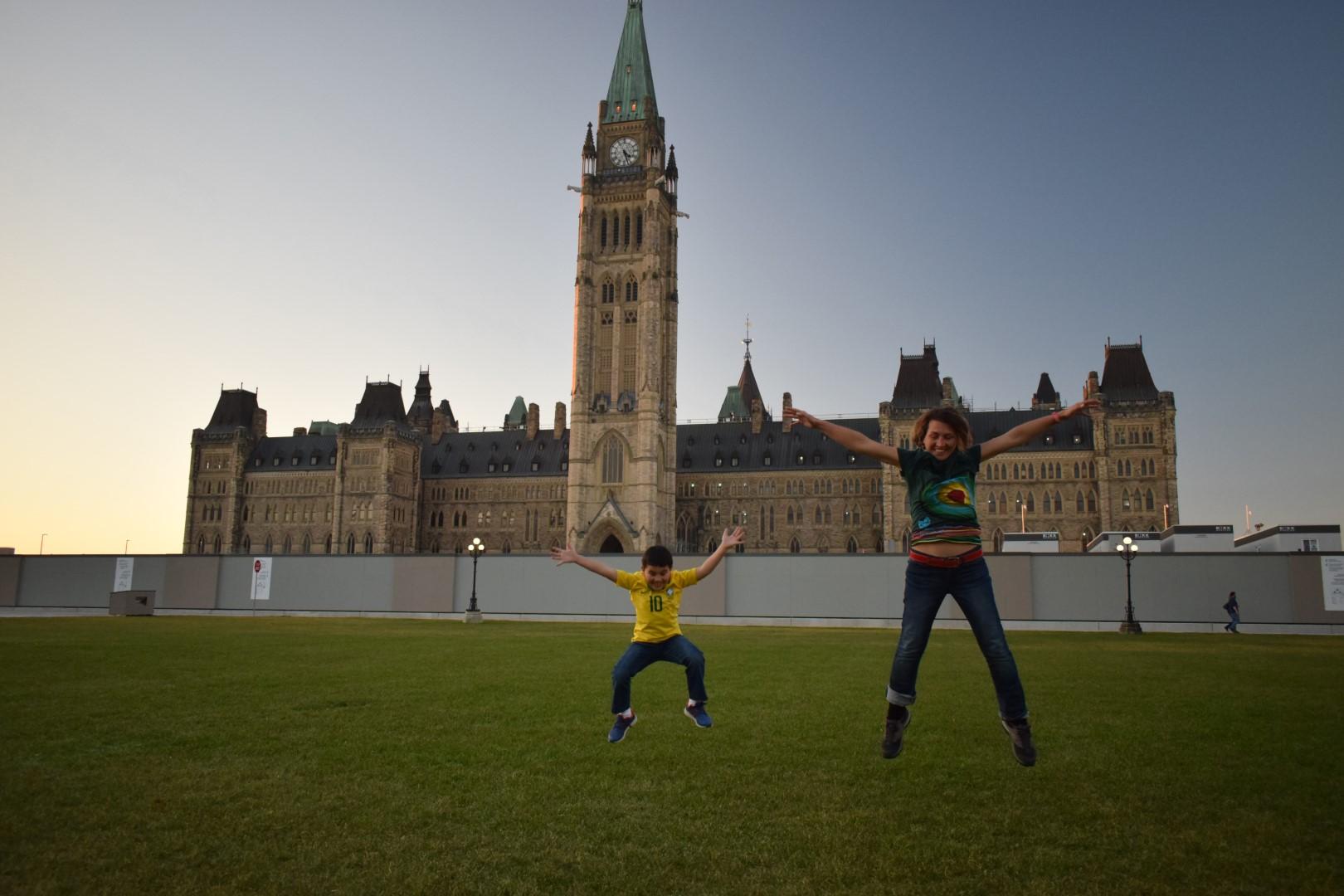 Parliament Hill, Ottawa, November 2020