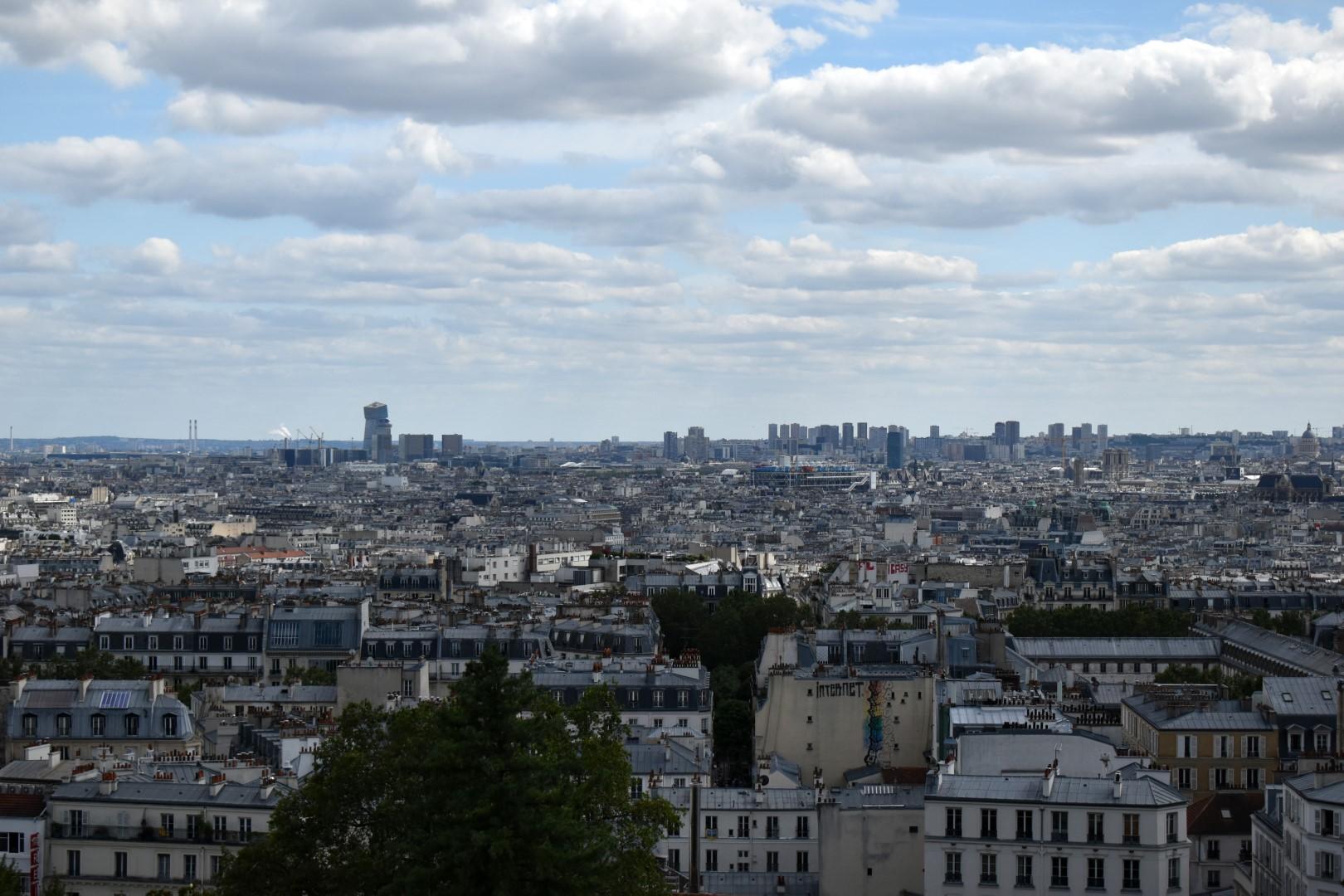 Parvis du Sacré-Cœur de Montmartre, Paris
