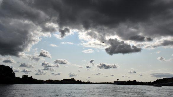 Navibus across the Loire River to Chantenay, Nantes