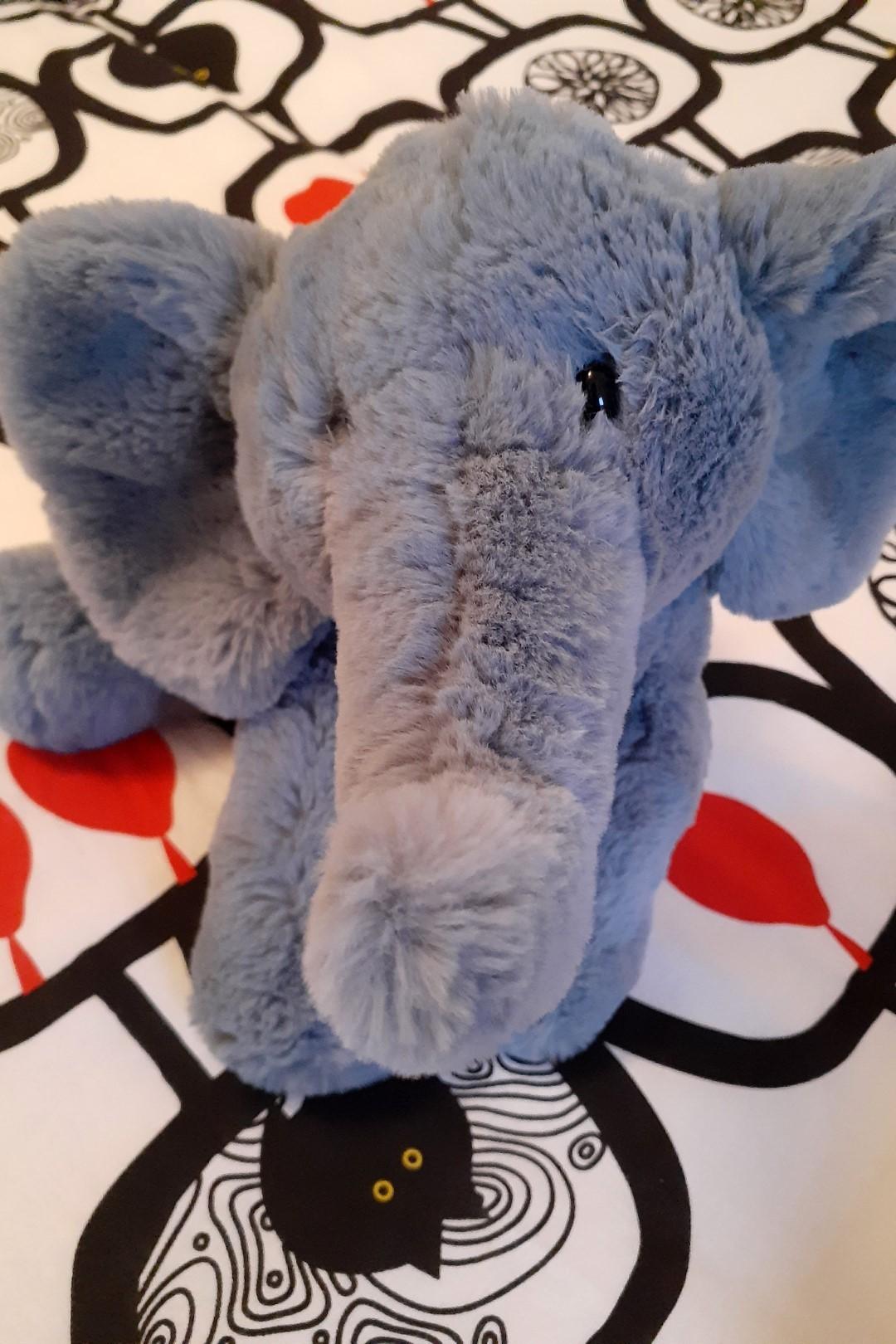 My birthday elephant, now in Canada