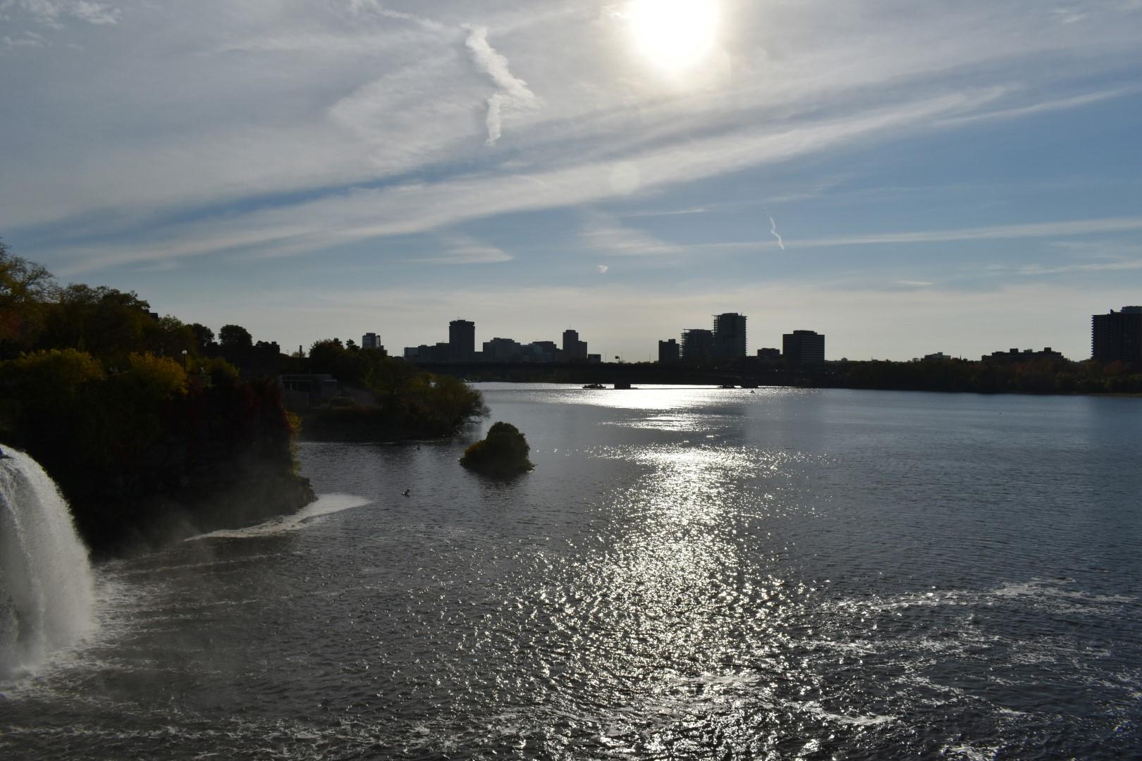 Rideau Falls Park, Sussex Drive, Ottawa
