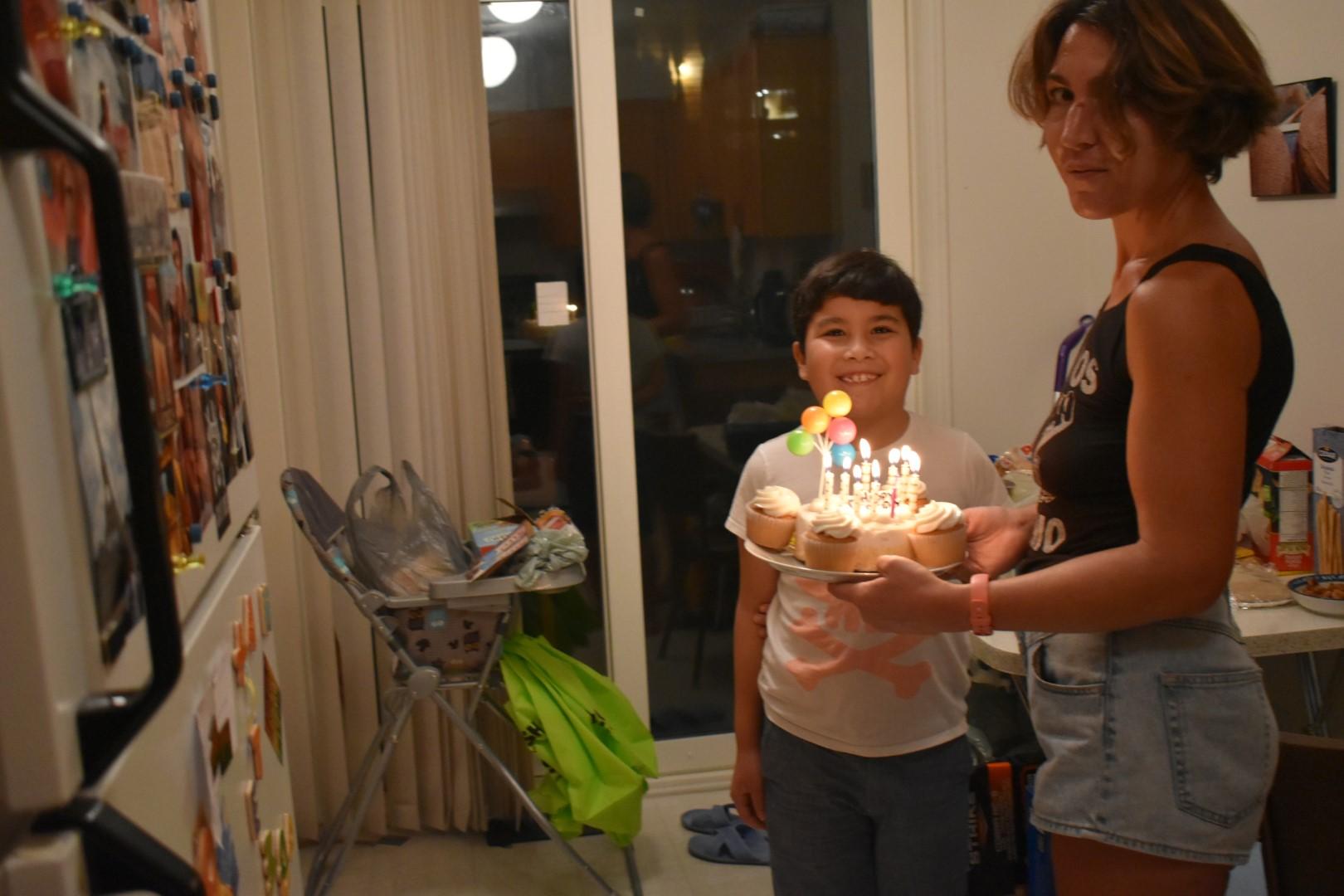 Mark's birthday, turning 9, October 12, Ottawa